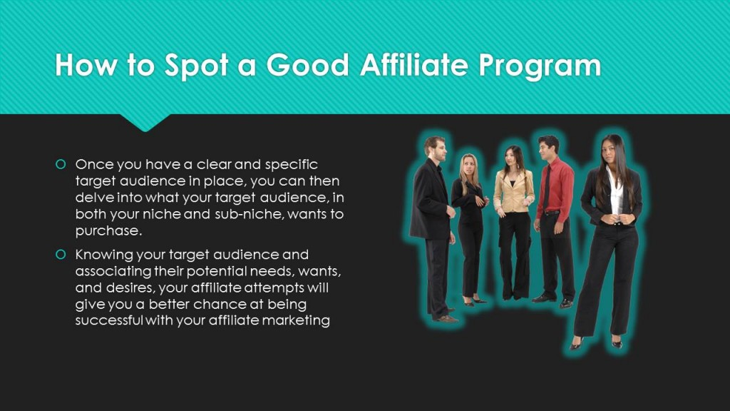 How To Spot a Good Affiliate Program